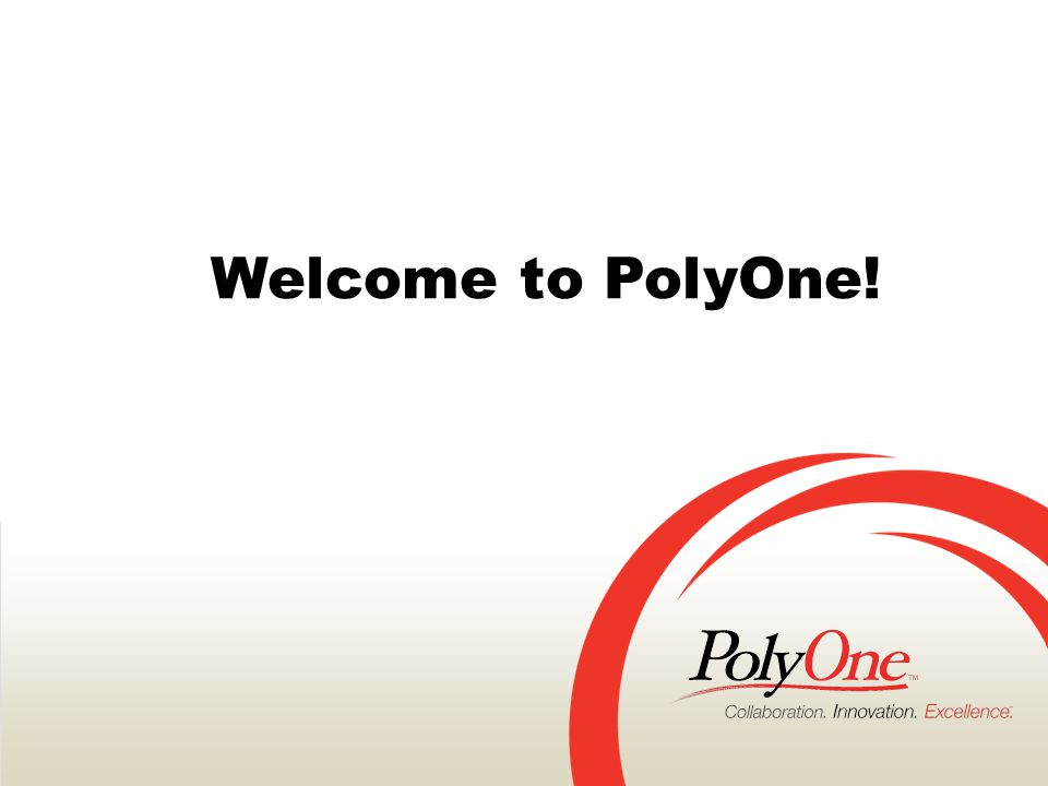 CONFIDENTIALPage 2PolyOne Corporation