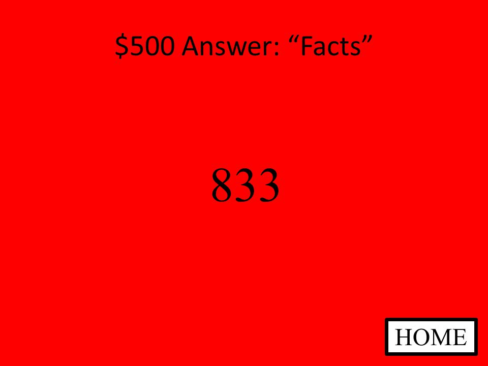$500 Question: Facts Approximately how many students go to Jefferson Middle School ANSWER