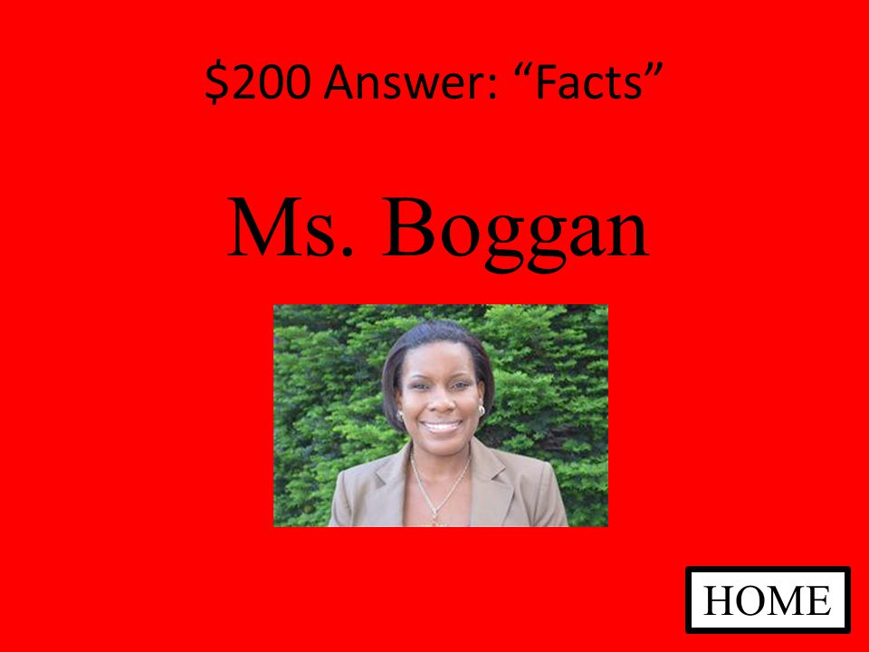 $200 Answer: Fact or Fiction Fact There could be bullies in any school, but you know what to do.