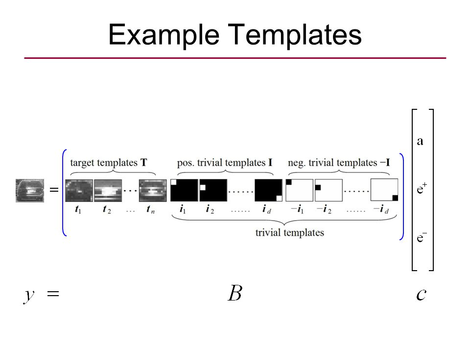 Example Templates