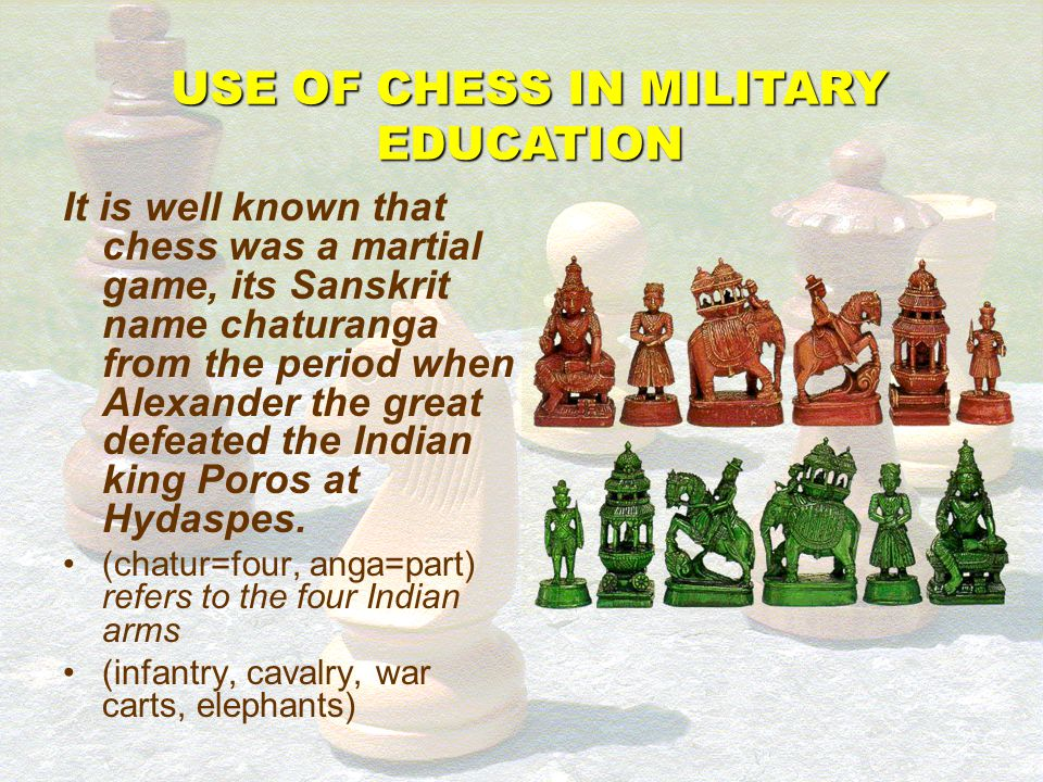 Military commander and chess champion, conducting war and conducting chess pieces – is there any relationship whatsoever between the two fields? Tacti