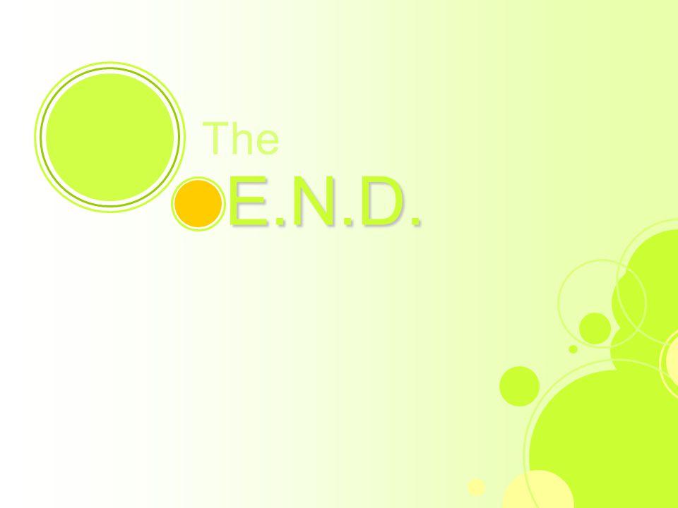17 The E.N.D. E.N.D.