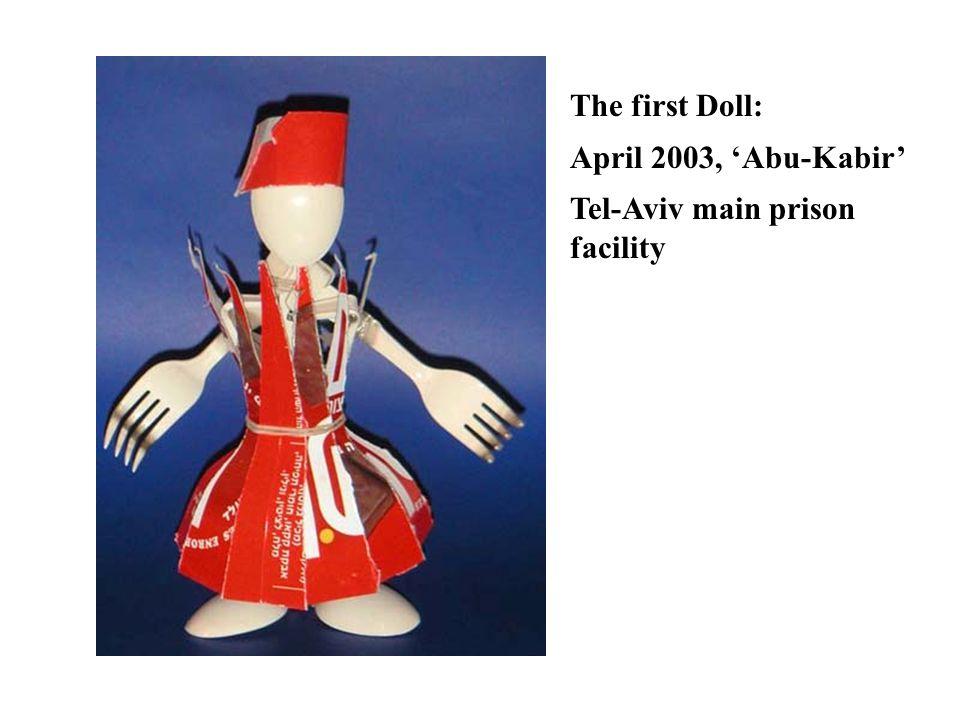 The first Doll: April 2003, 'Abu-Kabir' Tel-Aviv main prison facility