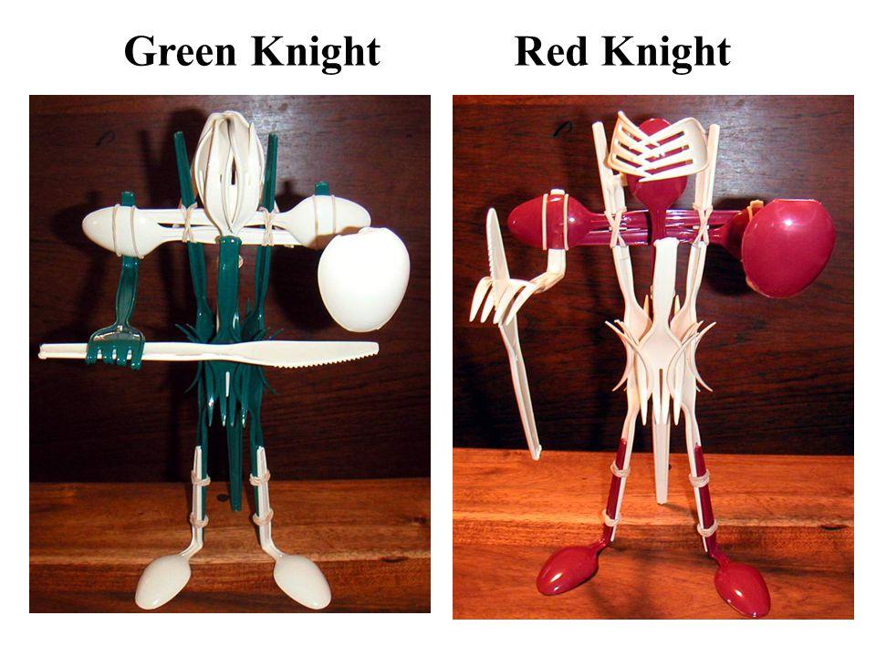 Red Knight Green Knight
