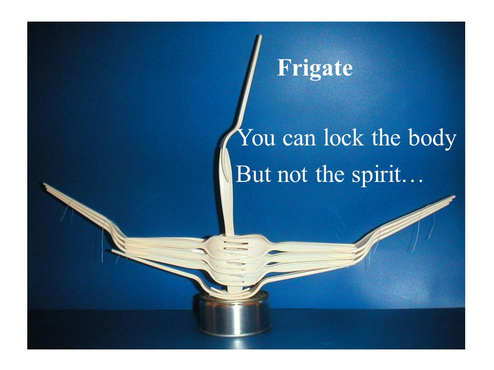 Frigate You can lock the body But not the spirit…