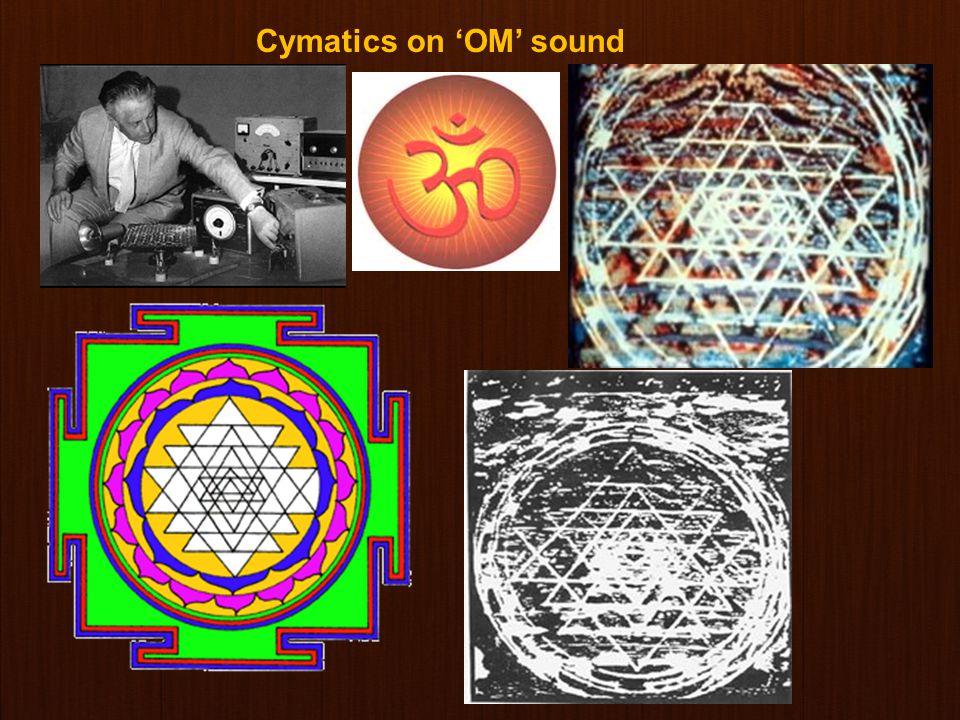 www.gokulbhajan.com Gokul Bhajan & Vedic Studies 18 Cymatics – Sound Experiments Dr. Hans Jenny – Swiss Scientist