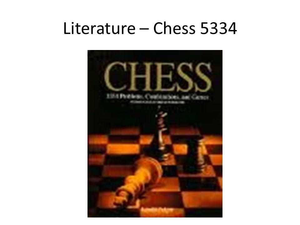 Literature – Chess 5334