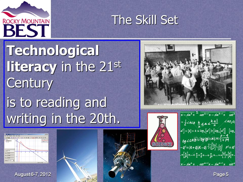 Page 6 August 6-7, 2012 Boosting Engineering Science & Technology (BEST) Our mission is to inspire students to pursue careers in engineering, science, and technology through participation in a sports-like, hands-on, real-world, engineering-based robotics competition.