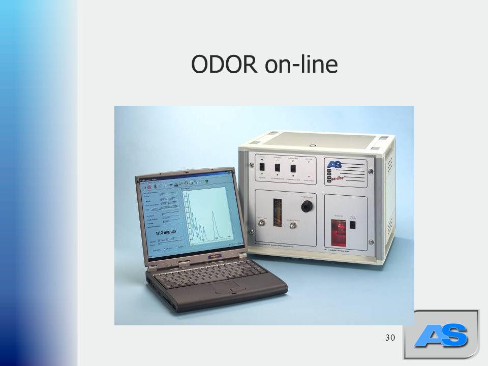 30 ODOR on-line
