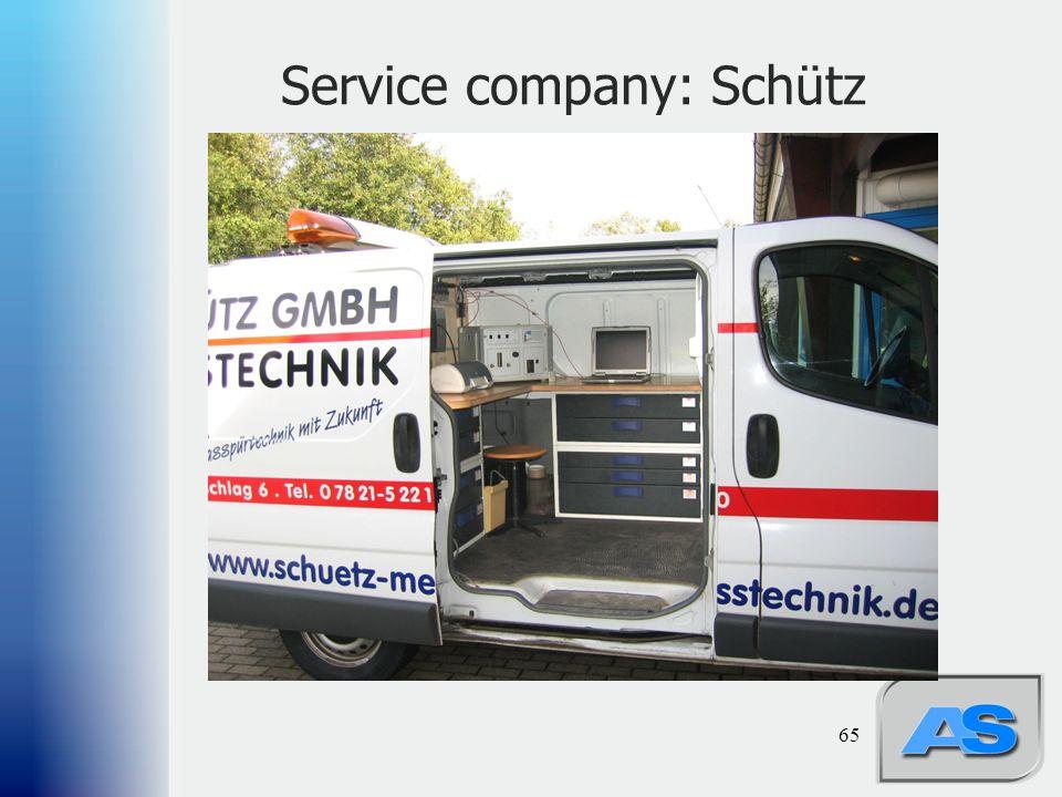 Service company: Schütz 65
