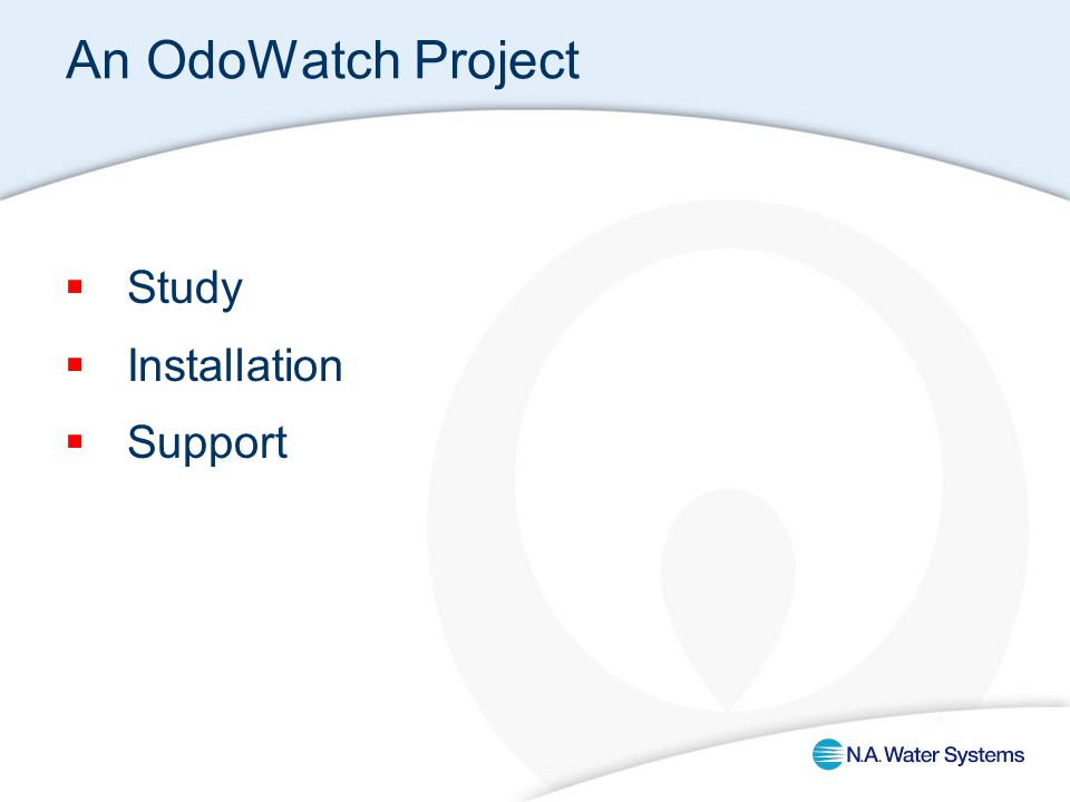 An OdoWatch Project  Study  Installation  Support
