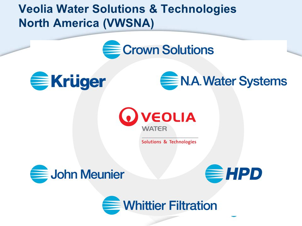 Veolia Water Solutions & Technologies North America (VWSNA) Blank