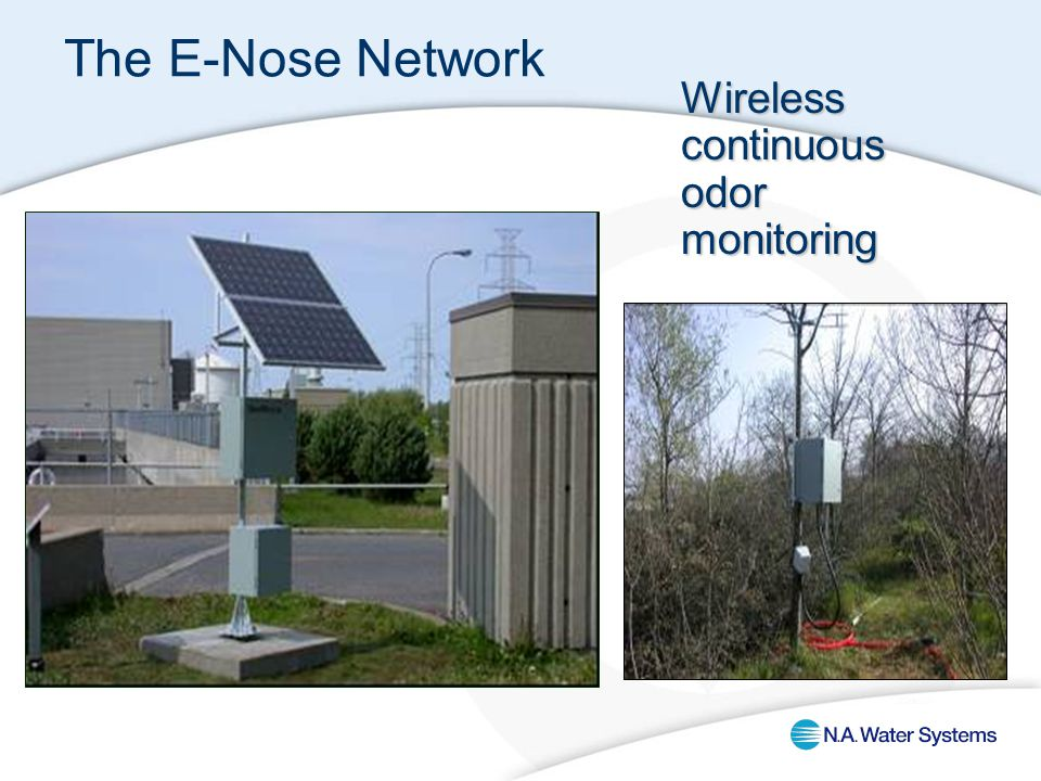 The E-Nose Network Wireless continuous odor monitoring