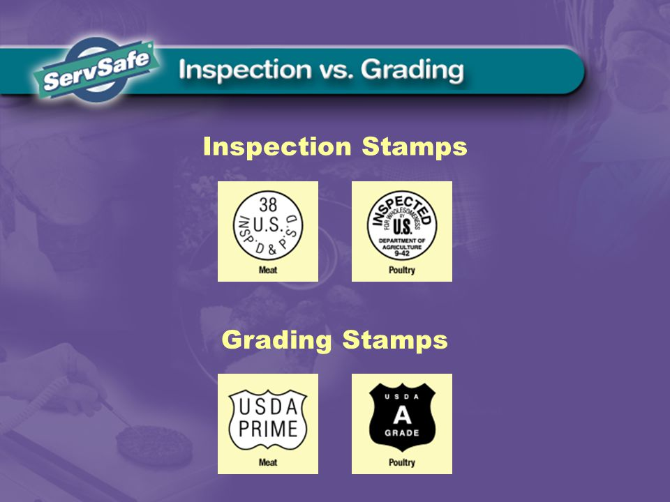 Grading Stamps Inspection Stamps