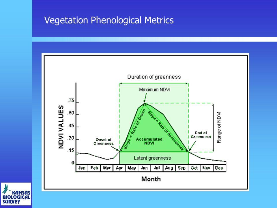 Vegetation Phenological Metrics