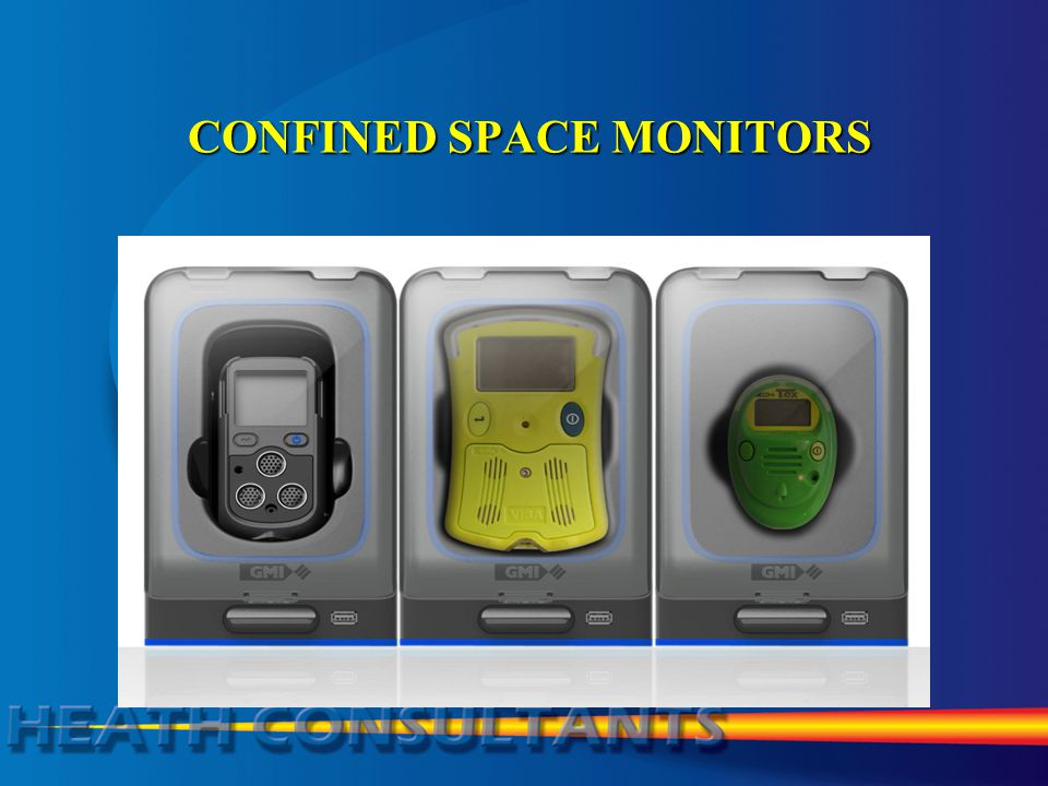 CONFINED SPACE MONITORS CONFINED SPACE MONITORS