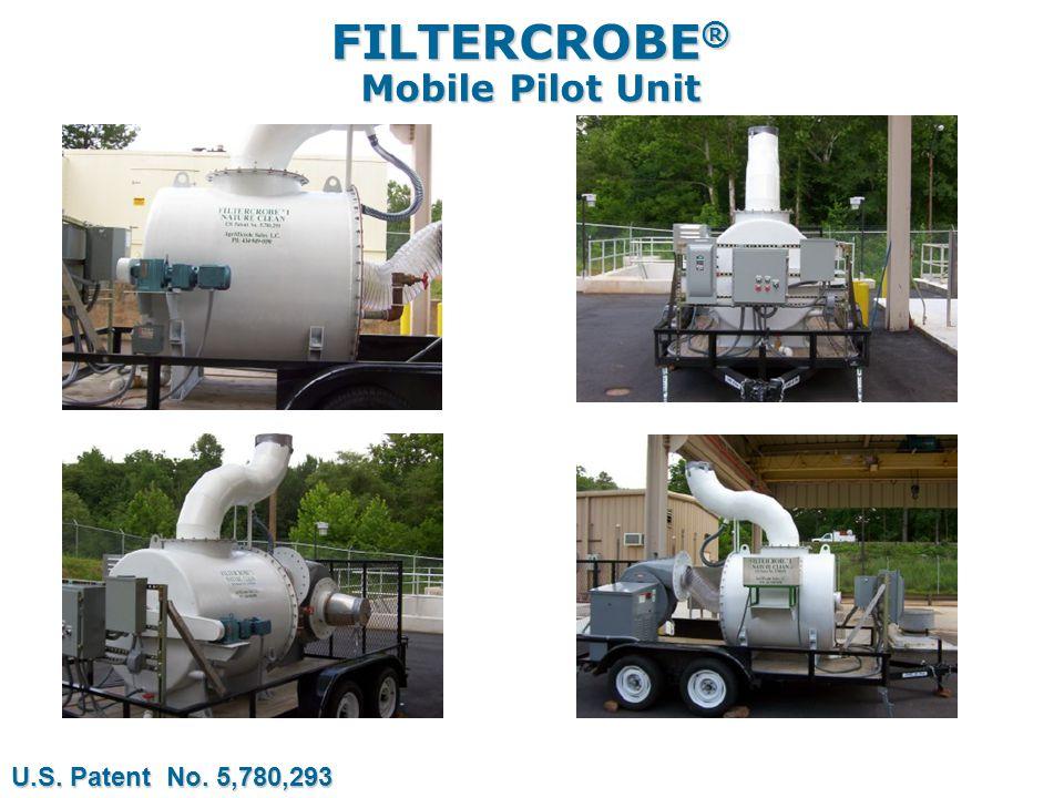FILTERCROBE ® Mobile Pilot Unit U.S. Patent No. 5,780,293