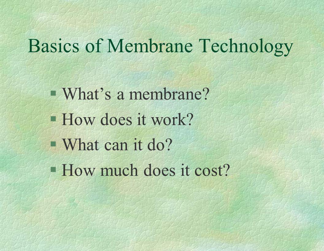 A membrane is a film.