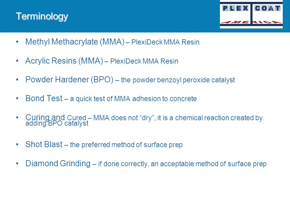 PlexiDeck MMA Training Scope This presentation has been prepared for the PlexiDeck Dealers and Sales Representatives in order to assist with the prope