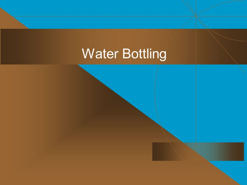 Water Bottling