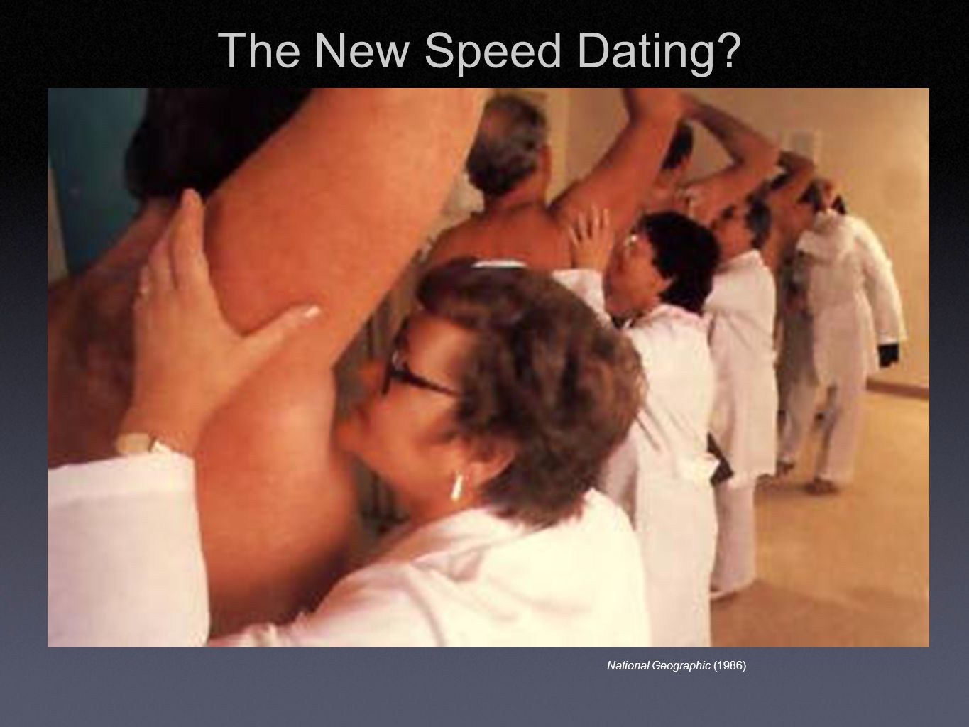 National Geographic (1986) The New Speed Dating