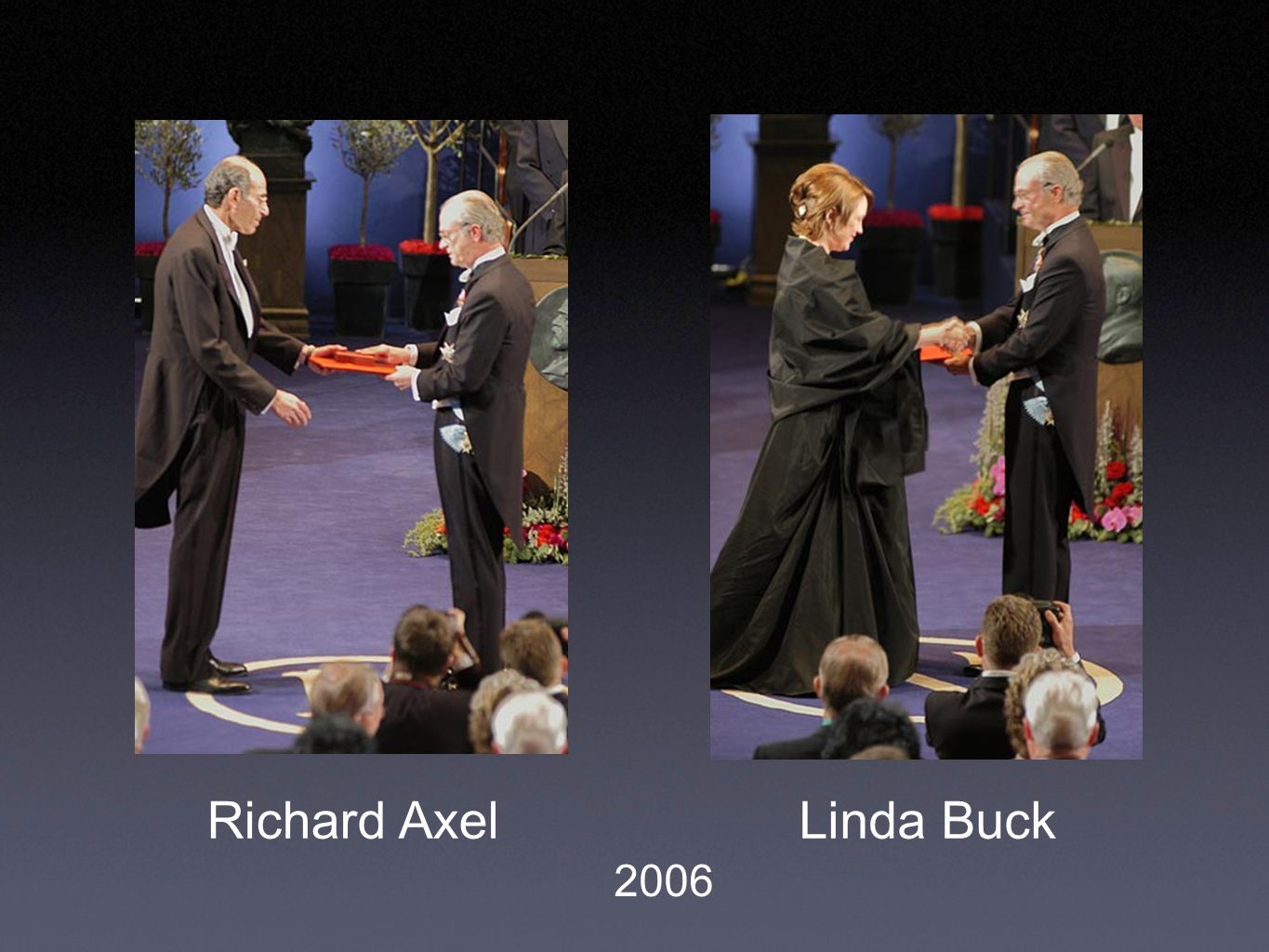 Richard AxelLinda Buck 2006