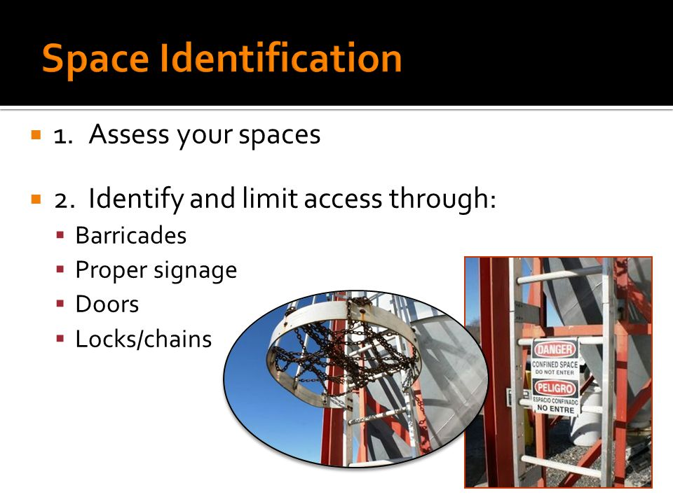  1.Assess your spaces  2.
