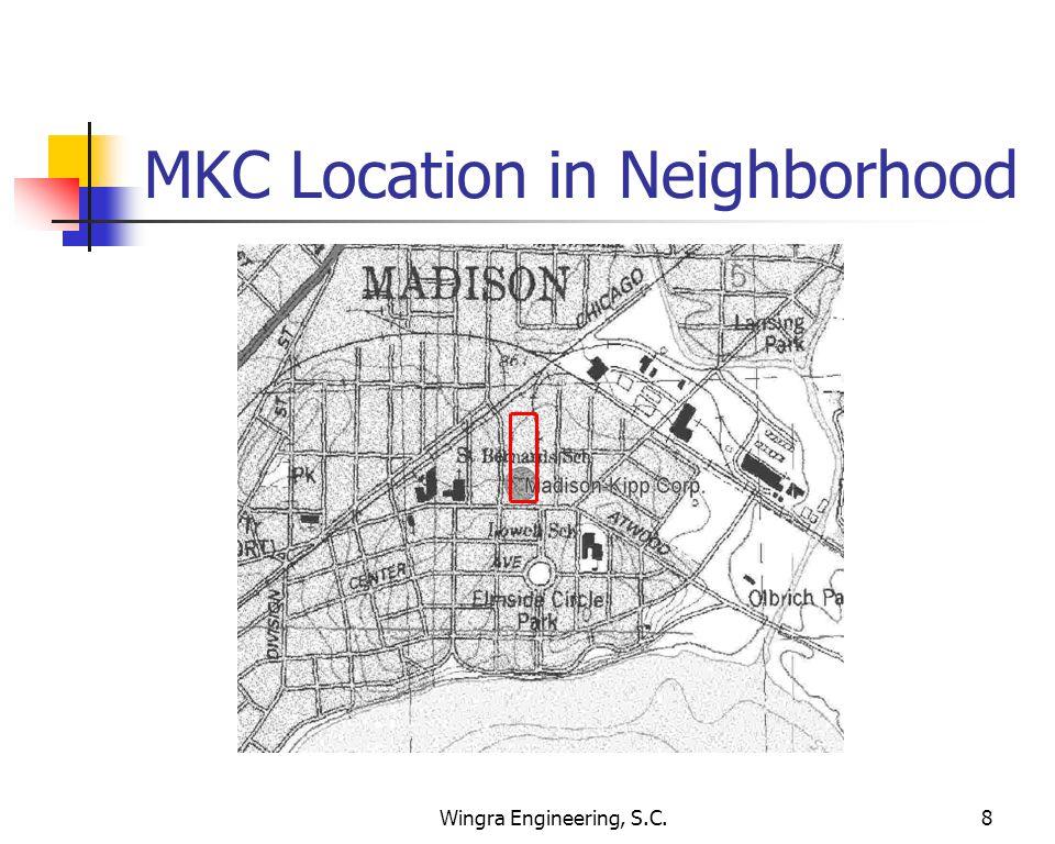 Wingra Engineering, S.C.8 MKC Location in Neighborhood