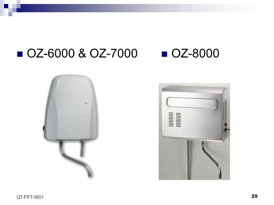 29 QT-PPT-0801 OZ-6000 & OZ-7000 OZ-8000