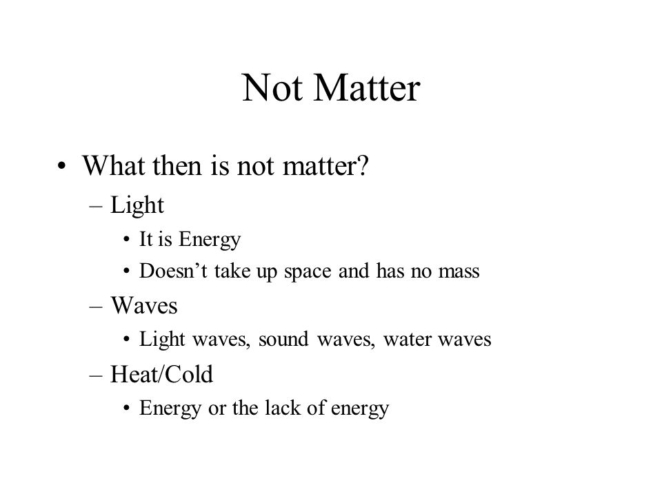 Phases Of Matter Definite Volume ShapeMotion of Particles SolidYes Vibrate LiquidYesNoMoves Freely- Constant Contact GasNo Random – Fast motion – Collisions not in constant contact PlasmaYesNoVery Very Fast