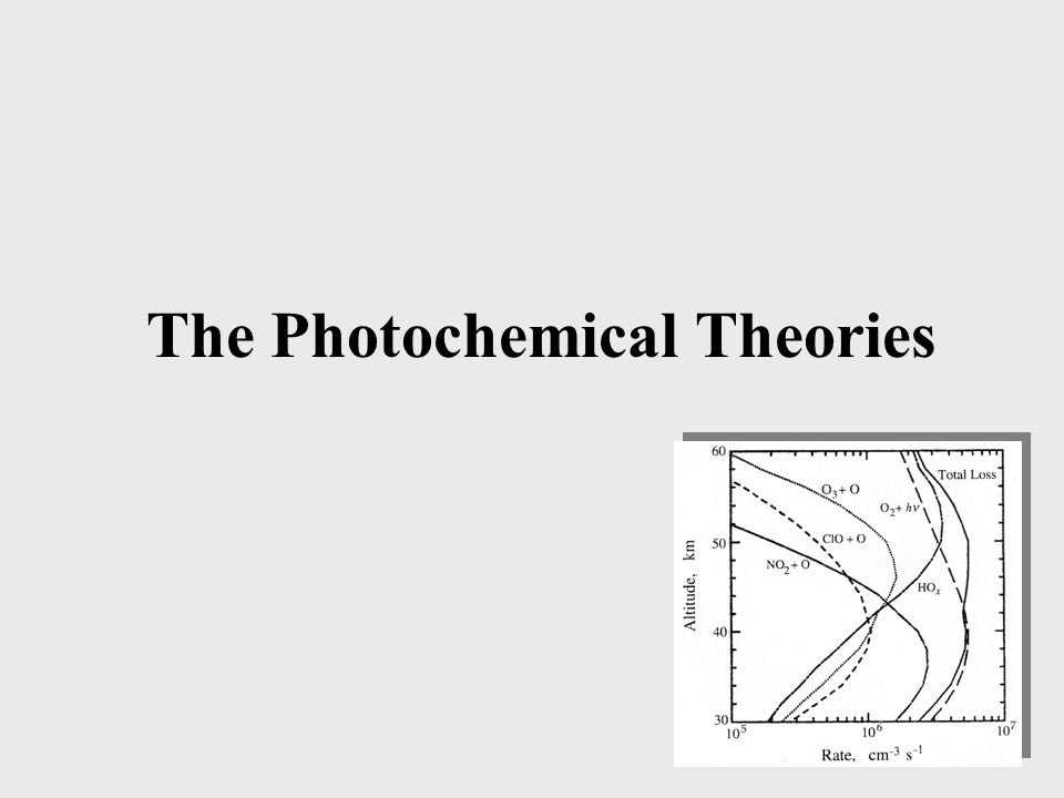 The Photochemical Theories