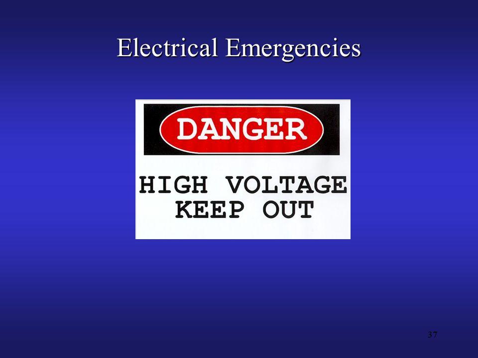 37 Electrical Emergencies