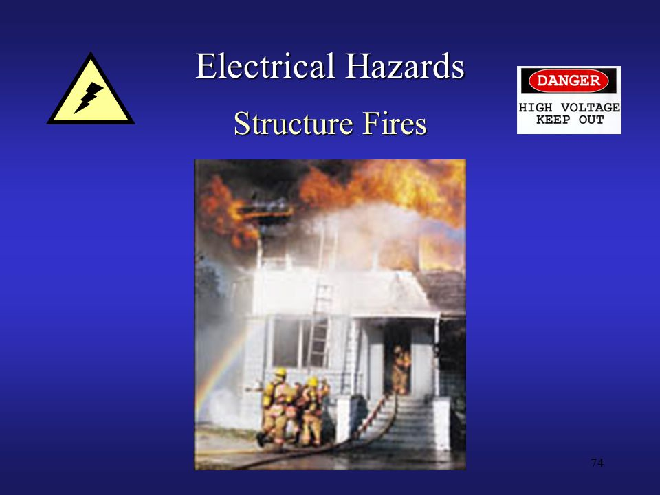 74 Electrical Hazards Structure Fires