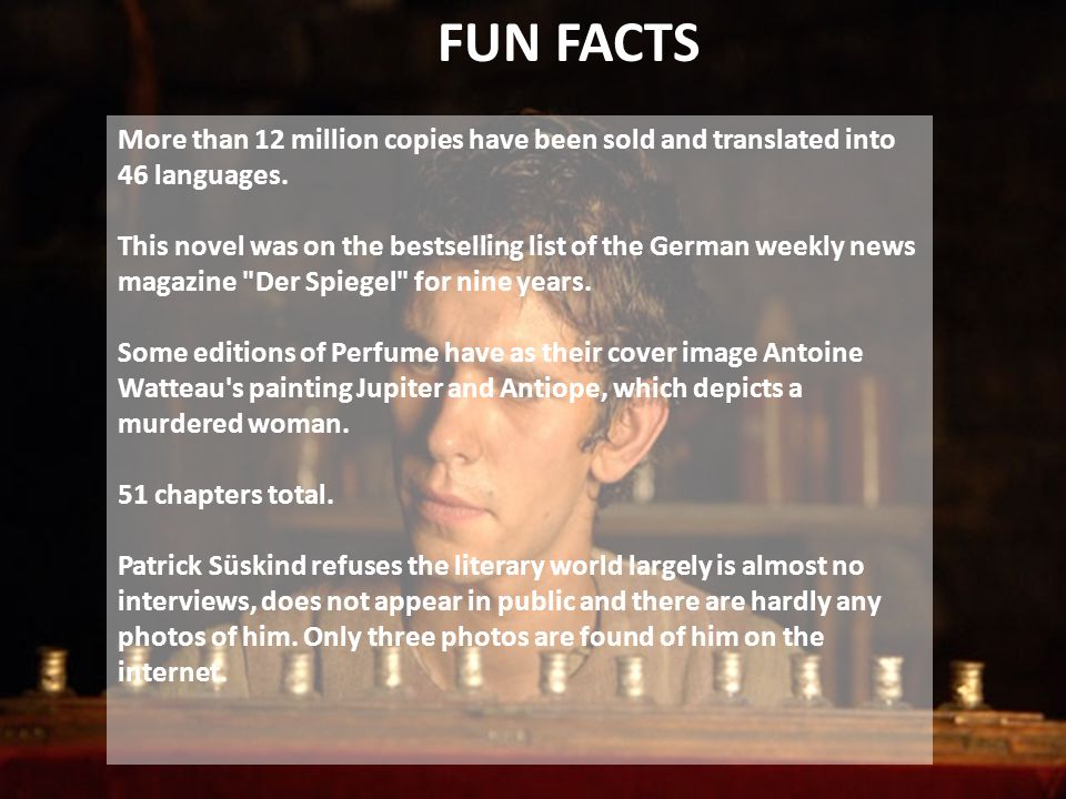 FUN FACTS More than 12 million copies have been sold and translated into 46 languages.