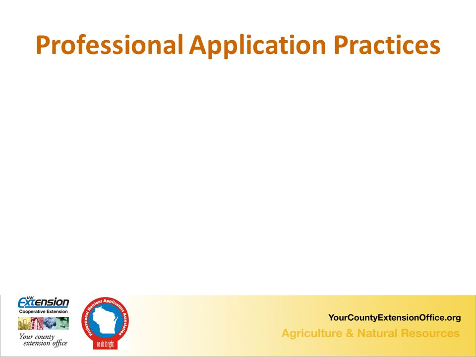 Professional Application Practices