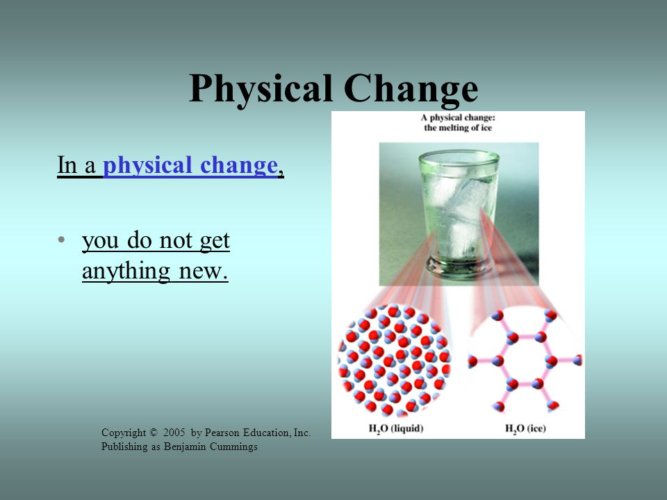 Indicators of chemical reactions: Production of a gas Change in color New substance produced Change in the chemical formulas Heat is produced or absorbed Odor is produced