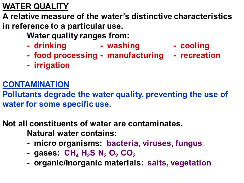 EUTROPHICATION Fertilizers and other plant nutrients can be considered as a contaminate.
