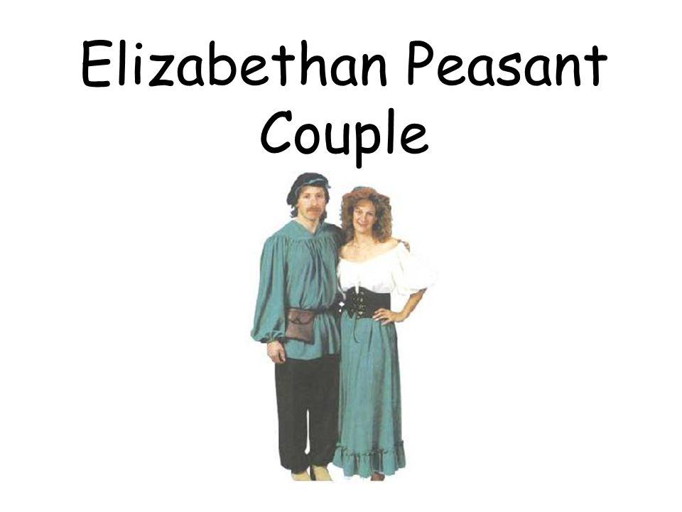 Elizabethan Peasant Couple