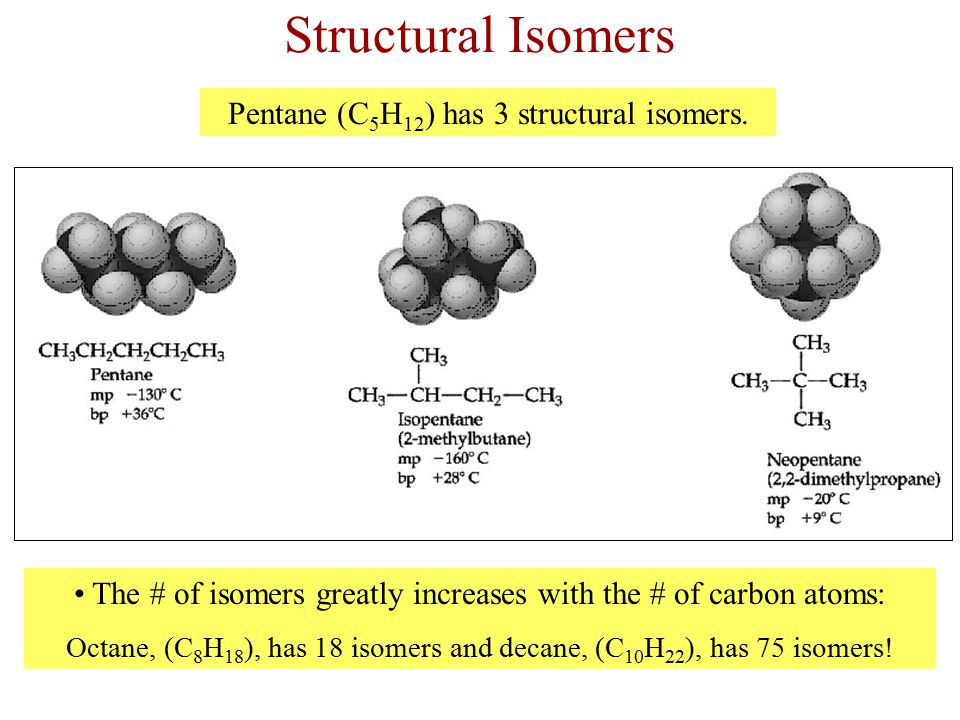 Stereoisomers Stereoisomers have the same formula and the same bonding of atoms, but they differ in the spatial arrangement of the atoms.