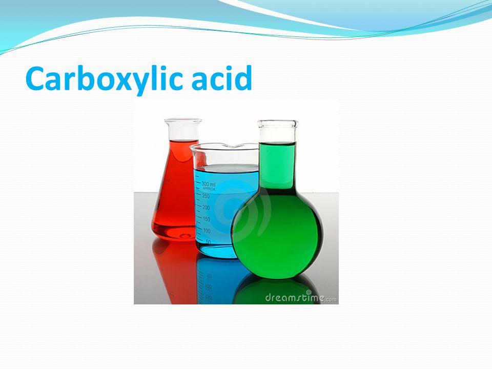General test Neutralization test: Procedure: Add 0.5 ml or few mg of carboxylic acid + dil.