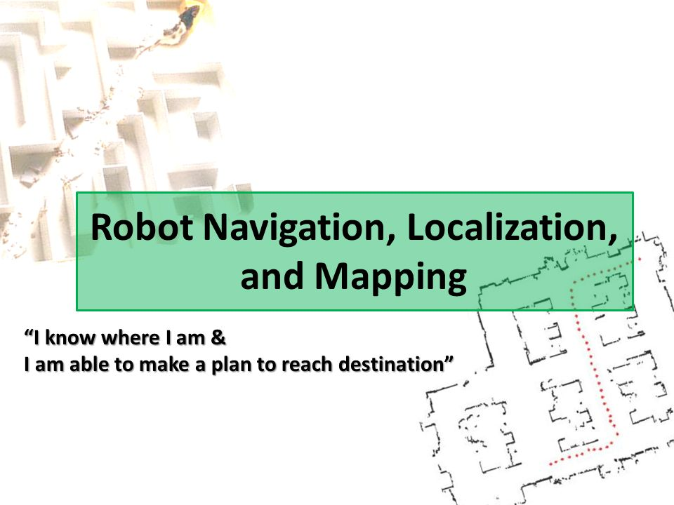Example of Map Generation Mapping algorithmMobile robot setup