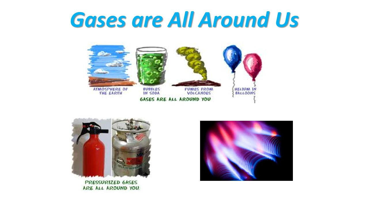 Gases are All Around Us