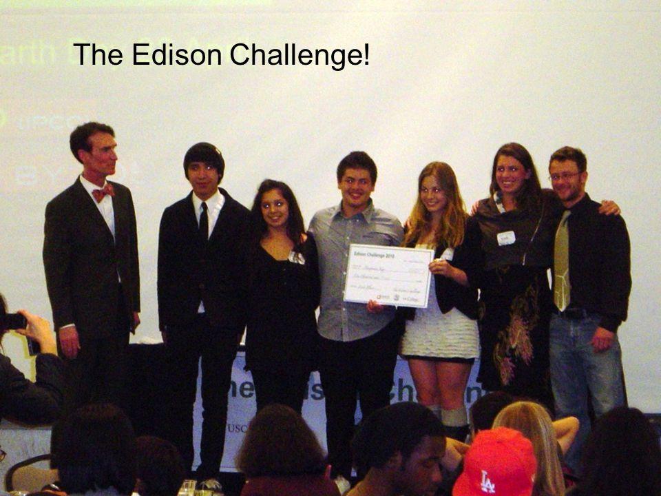 The Edison Challenge!