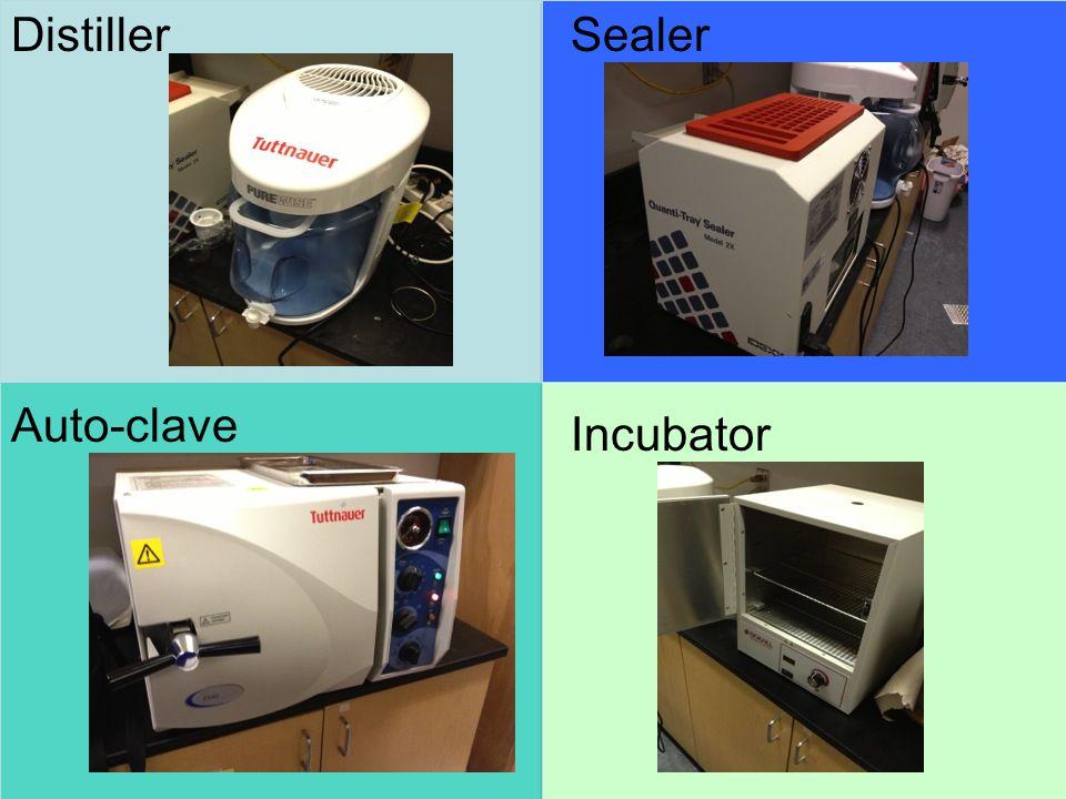 DistillerSealer Incubator Auto-clave