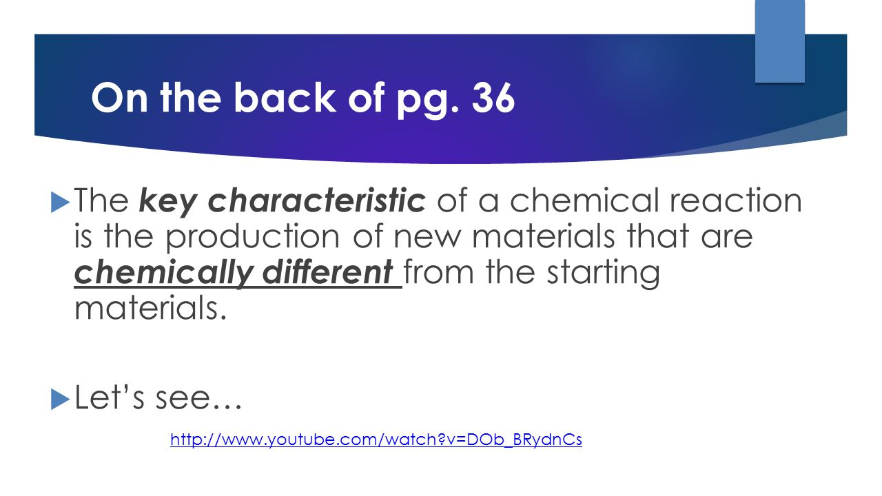 What happens to the mass of the matter during chemical reactions.