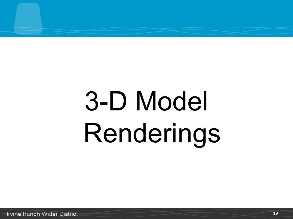 3-D Model Renderings 19
