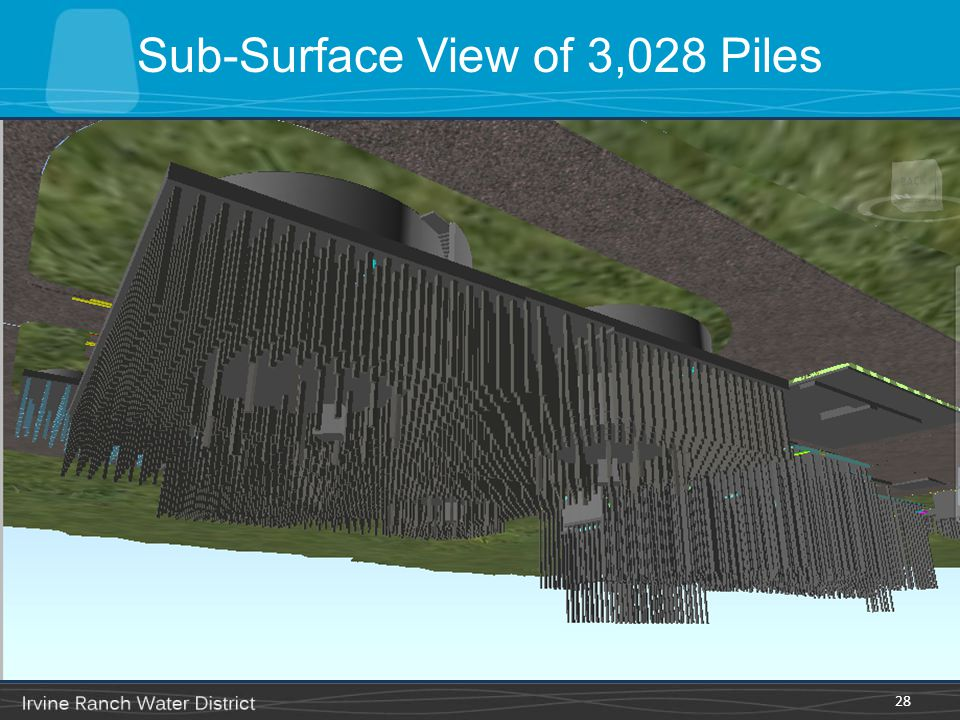 Sub-Surface View of 3,028 Piles 28