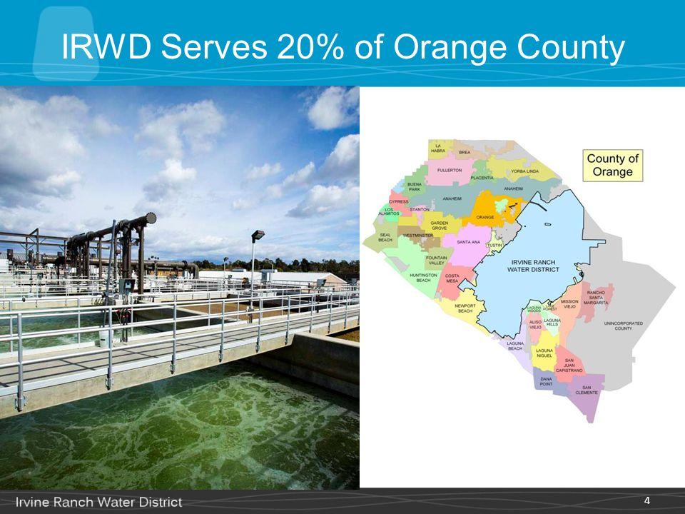 4 IRWD Serves 20% of Orange County