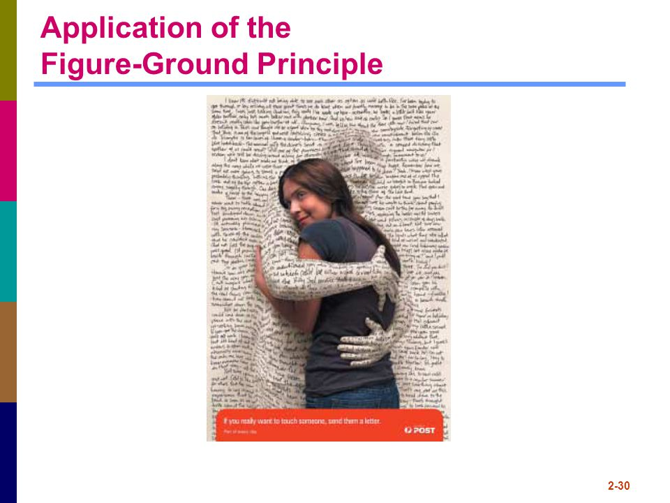 2-30 Application of the Figure-Ground Principle