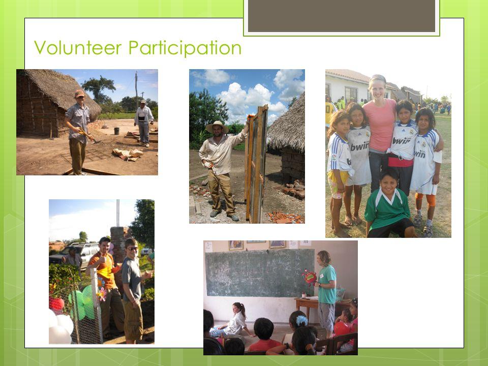 Volunteer Participation